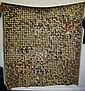 Early Brown Multi Colored Hand Made Quilt