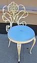 Iron Vanity Chair
