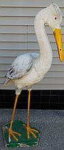 You just can't not like this!!!! Folk art stork