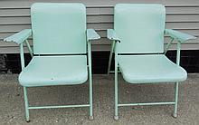 Samson chairs designed by Russel Wright