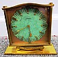 LeCoultre Brass Clock 1955