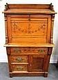 Oak Slant Lid Desk