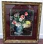 Anne H Pierce Painting Flowers in Vase