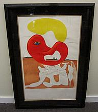 Salvadore Dali Print Pencil Signed Numbered 31x45