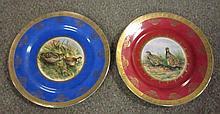 Pair Game Bird Plates