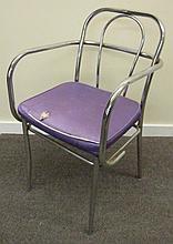 Chrome Arm Chair