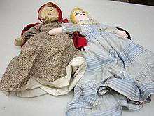 2 Topsy Turvy Dolls