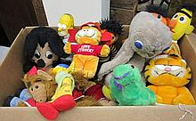 Large Lot Stuffed Animals