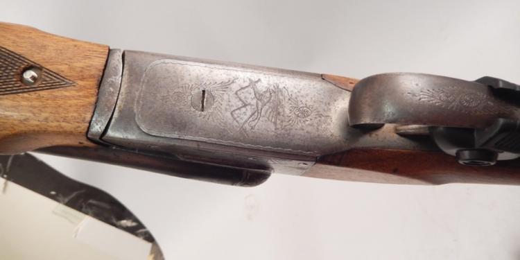 De Escopetas Jabe Eibar 12 gauge shotgun