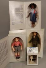 Four Effanbee Little Rascals dolls in original boxes