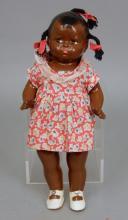 1930's Effanbee black Baby Grumpy Doll