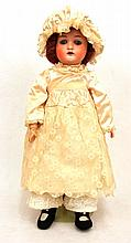 Kling German bisque head doll