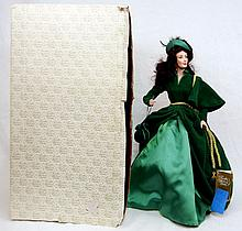 Franklin Heirloom Scarlett O'Hara doll