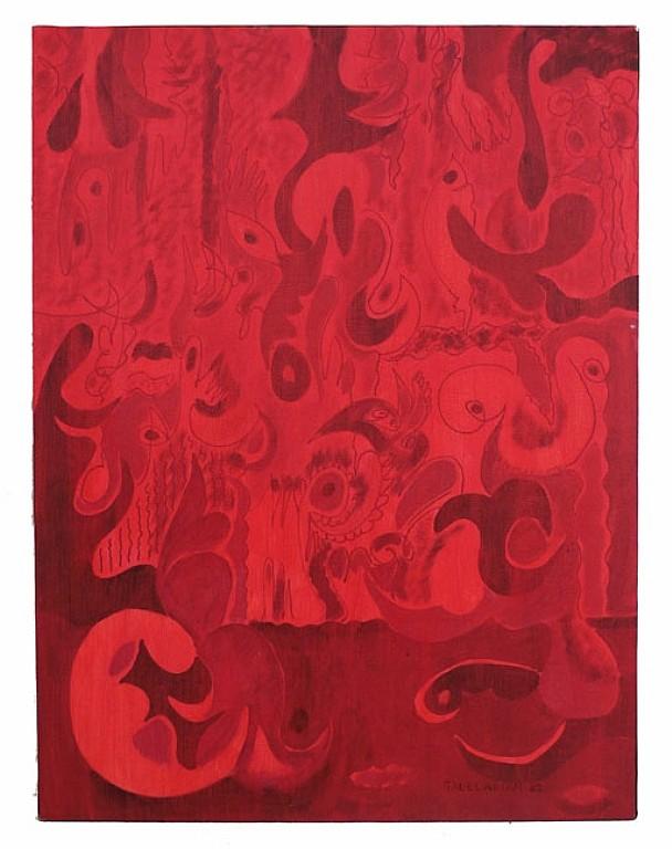(Stephen) Sacklarian oil on canvas