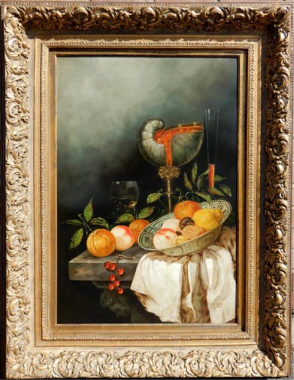 K. Rizo oil on canvas