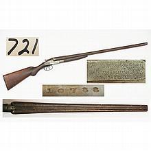 Hopkins & Allen 12 ga. shotgun
