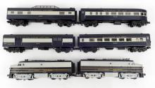 Rail King MTH Baltimore & Ohio F3 AA Diesel 2-unit set and passenger cars