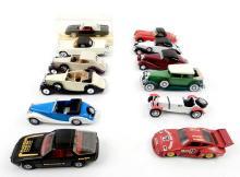 Solido and Corgi Toy cars, nine Solido automobiles