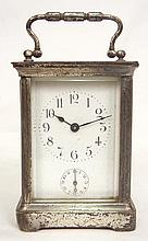 Carriage clock, made in France