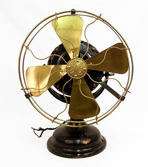 General Equipment Company Fan : Ge alternating current fan by general electric
