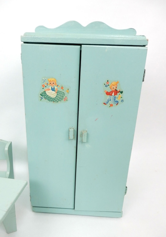 1950 39 s vintage store made doll furniture for Furniture u save a lot