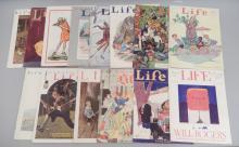 Fourteen early 20th C. Life Magazine