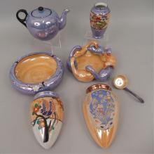 Grouping of lusterware