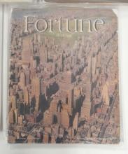 Five Fortune magazines, 1939-1940
