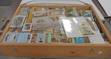 Large lot of 20th C. postcards, stereoptic view cards, etc.