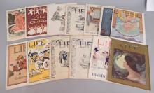 Twelve early 20th C. Life Magazines