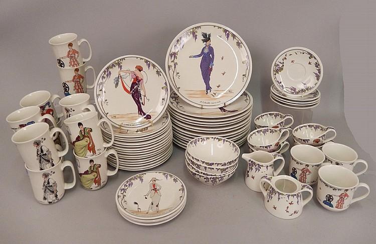 Set Of Villeroy Boch Design 1900 Dinnerware