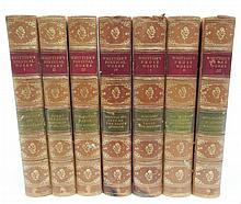 Whittier's Poetical Works in seven volumes