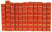 Set of eleven novels by Stephen Crane