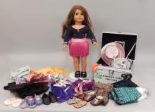 American Girl doll Marisol with clothes and accessories