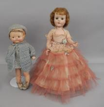 American Character Sweet Sue walker doll, Campbell's compo doll