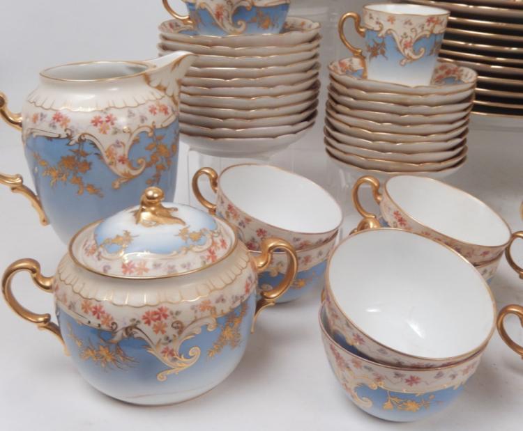 Fischer Mieg Bohemia Porcelain Dinnerware Set