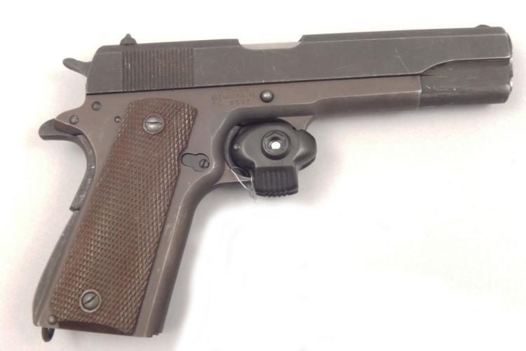 Remington Rand Inc  semi-automatic  45 cal pistol