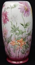MZ Austria hand painted porcelain vase