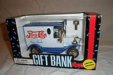 Pepsi-Cola Truck Coin Bank