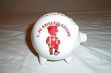 Pig Coin Bank German Soccer