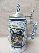 Avon Stein, Tribute to Rescue Workers, 1997
