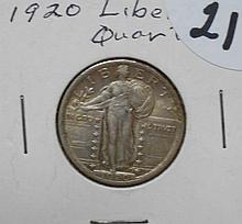 1920 Standing Liberty Quarter