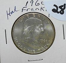 1960D Franklin Half