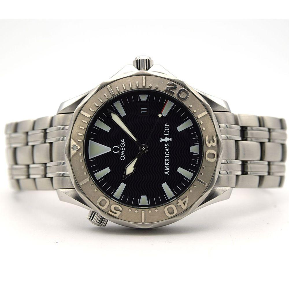 GENTLEMAN'S OMEGA SEAMASTER AMERICA'S CUP 300M LIMITED EDITION
