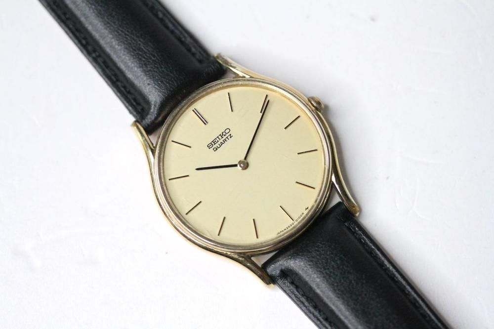 *TO BE SOLD WITHOUT RESERVE* SEIKO QUARTZ GOLD PLATED WRIST WATCH