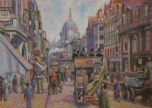 H. Claude Pissarrp Fleet Street