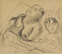 Jacob Epstein Sunita and her son