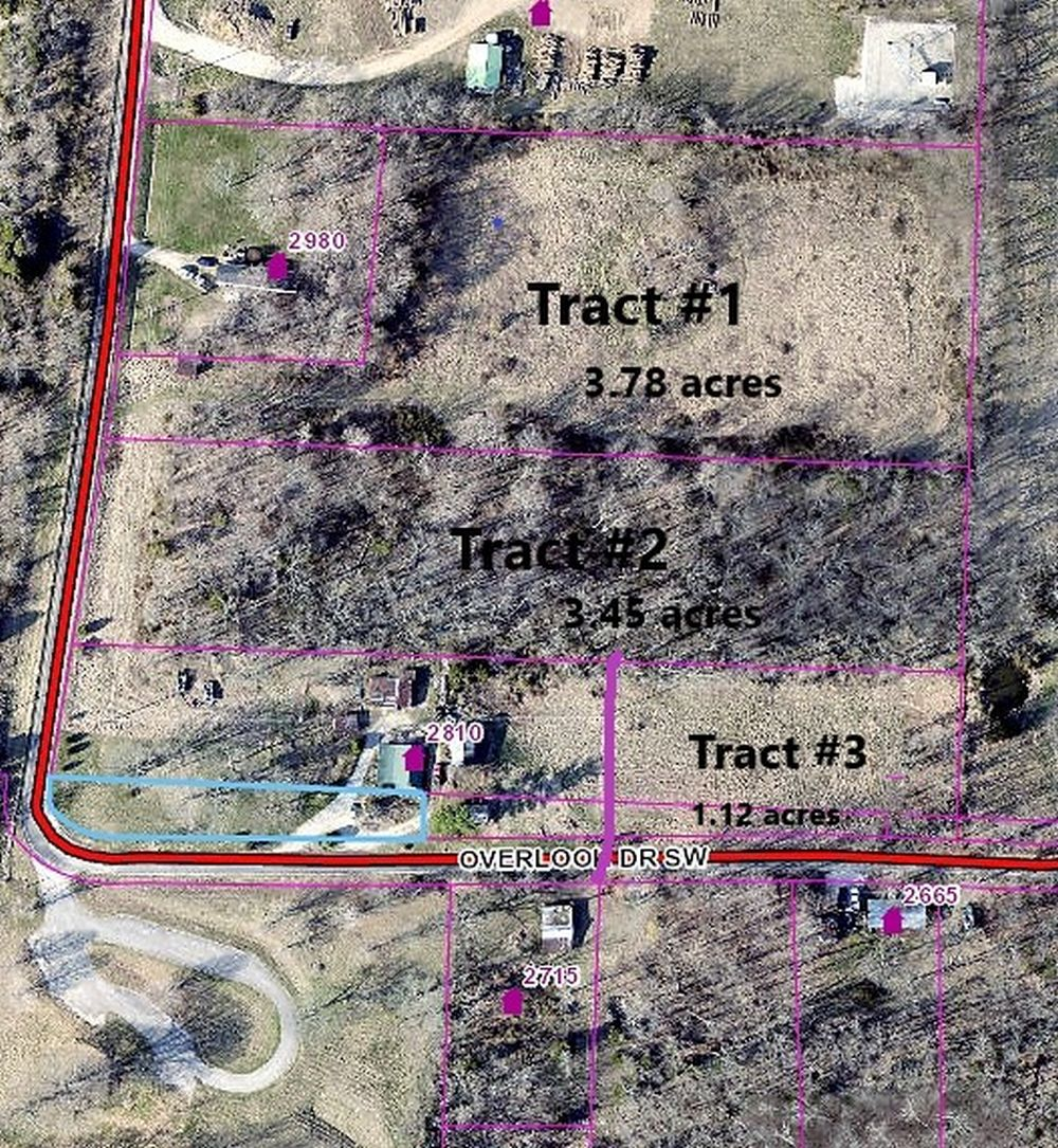 3.78 acres open property Tract 1
