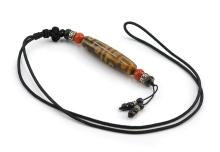 TWELVE EYE DZI BEAD NECKLACE