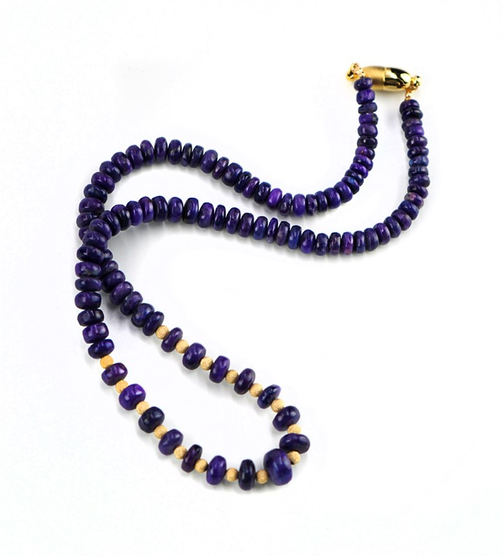 PURPLE SUGILITE NECKLACE